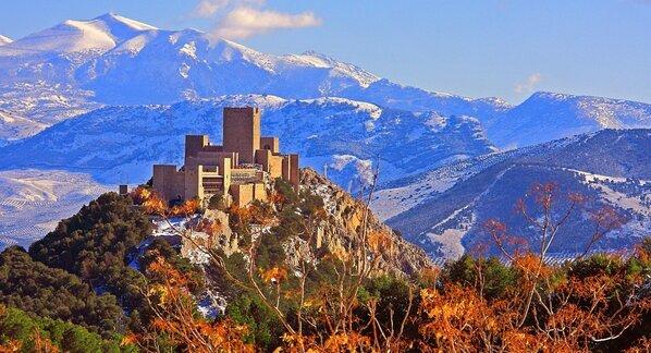 Jaén, castillo de Santa Catalina. http://t.co/lEEh5joiB8
