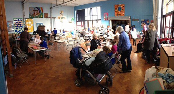 Things well underway at messy church http://t.co/u8Vti4paTK