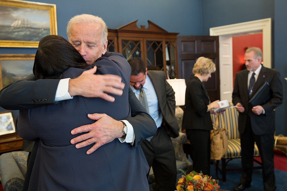 Office of VP Biden's Twitter Photo