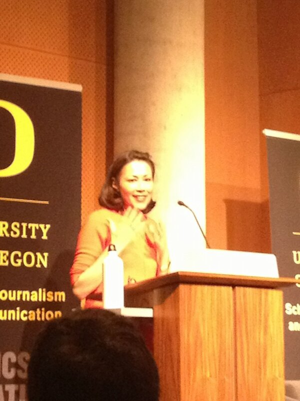 """RT @alyssagritz: """"It's so good to be home"""" - @AnnCurry love her! #Ruhl2013 http://t.co/YzaEPcAx0f"""