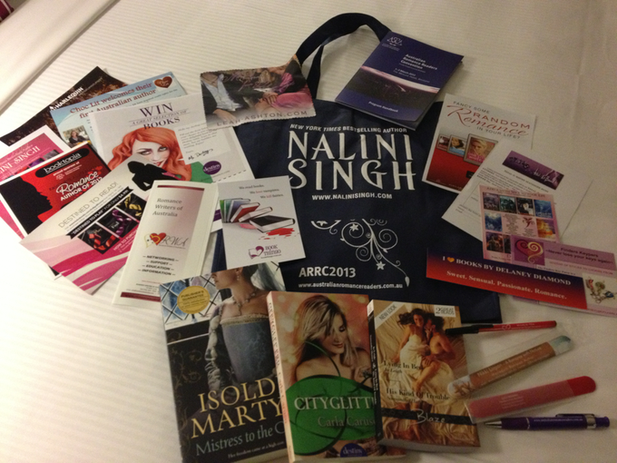 ARRC 2013 swag - Photo by Kat Mayo (via Twitter)