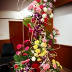 Flowers from mom and dad :) #fernsandpetals in Tirupati! Nice job!