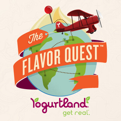 The Flavor Quest begins Monday! Taste our new global flavors and earn free yogurt as your tastebuds travel the world! http://t.co/DZ7k7dA88H