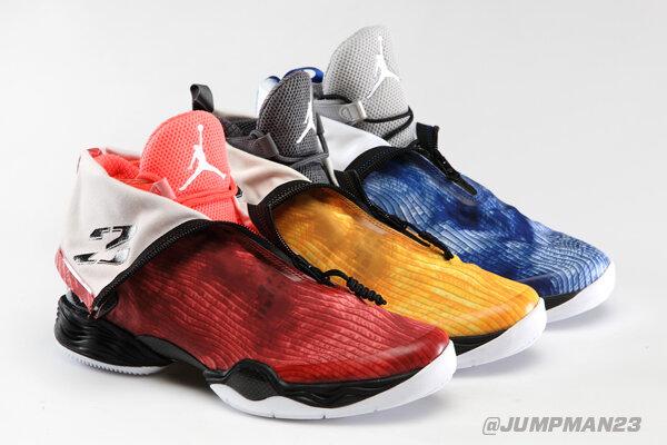 Three fresh Air Jordan XX8 looks hit shelves tomorrow. Which ones will you #DareToFly in? http://t.co/vjrDkdqUeu