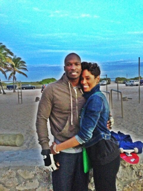 Chad Johnson's Twitter Photo
