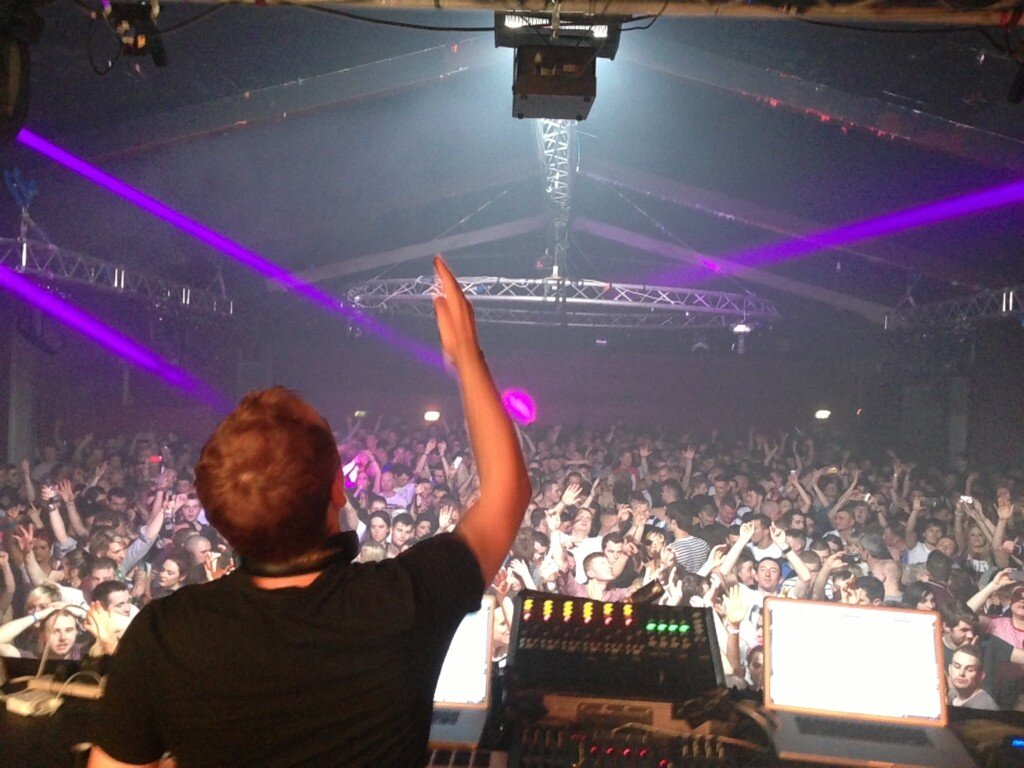 Paul van Dyk's Twitter Photo