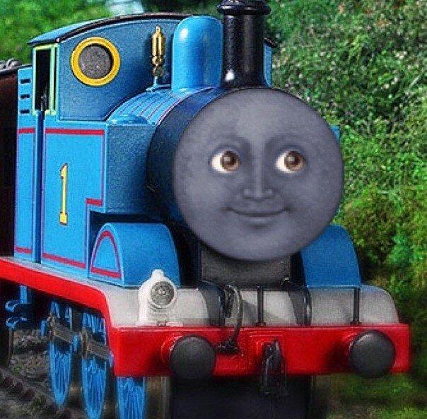 Thomas The Train Face Thomas The Train Cre