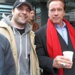 You're welcome. Time for a new #1! @RMGdieter: Yo @Schwarzenegger!  Thank you. Just crossed off # 1 on bucket list!