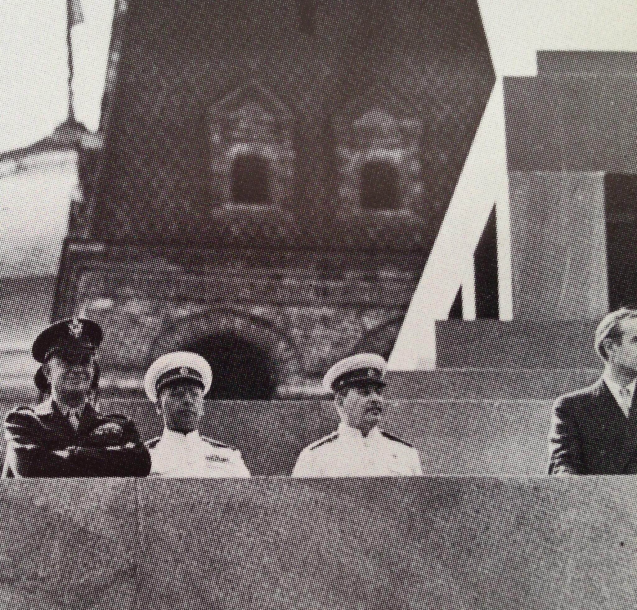 This photo of Eisenhower with Stalin atop Lenin's Tomb at end World War II was used against him when he ran in 1952: http://t.co/wafckEUaps