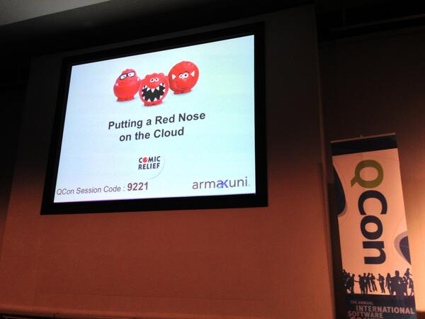 Love this photo from QCon London 2013 #qconlondon @qconlondon [pic] --