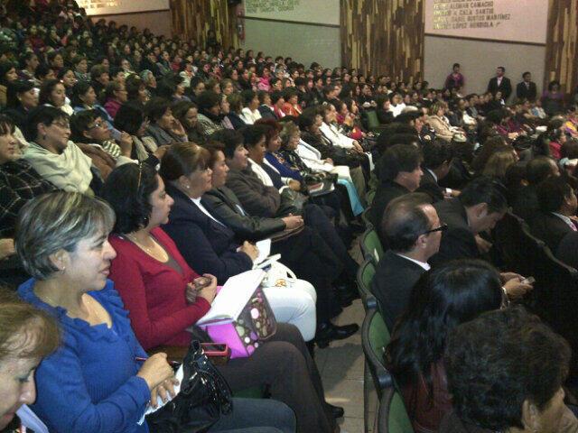 Dia Internacional de la Mujer SMSEM, Auditorio Forjadores del Sindicalismo. Conferencia Tere Vale Castilla http://t.co/OnPBS35veq