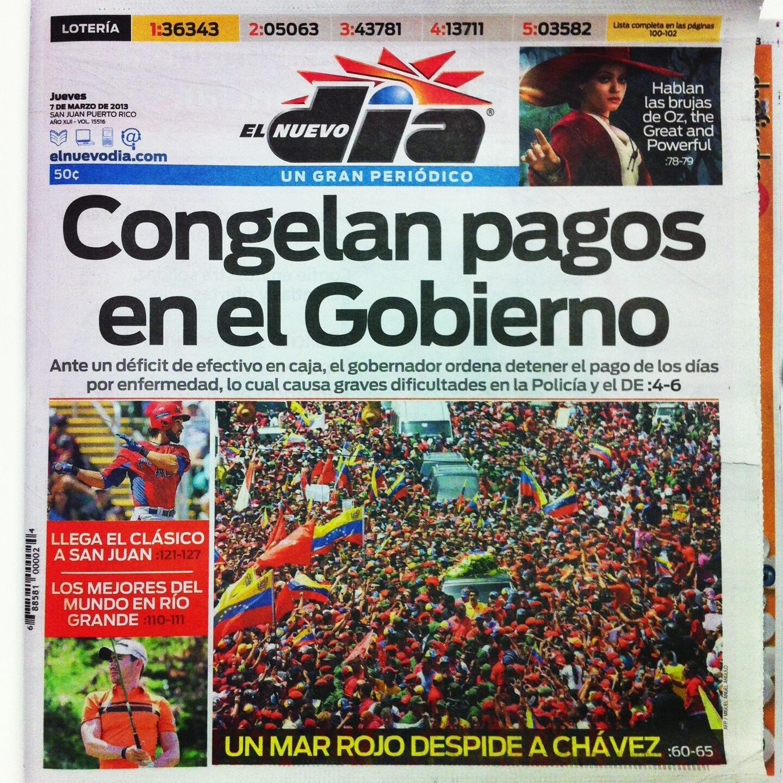 En portada: Congelan pagos en el Gobierno http://t.co/a7MtIRsVw5
