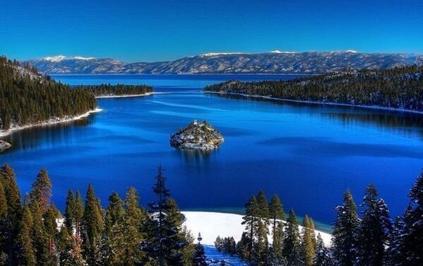 Озеро Тахо, штат Калифорния, США http://t.co/C4e2CLqHWY