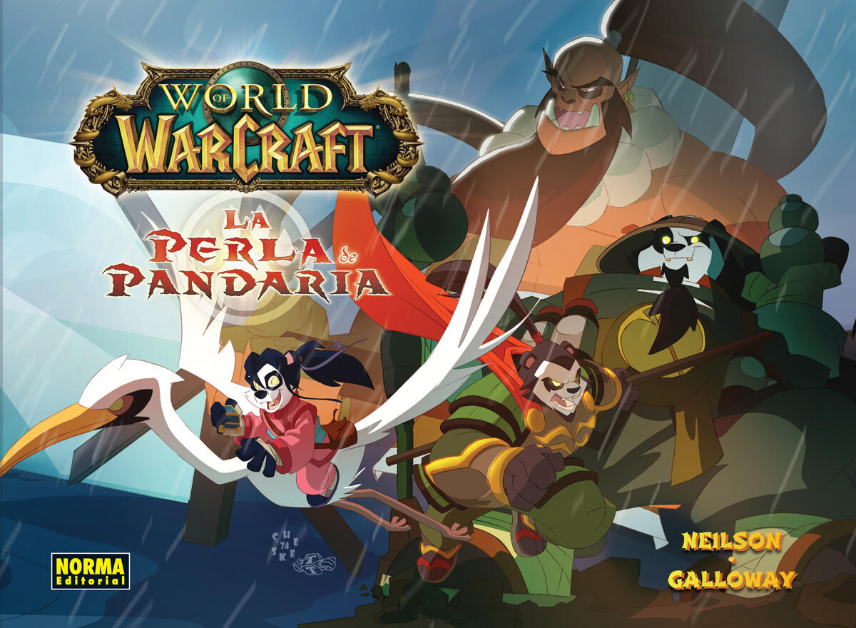 RT @NormaEditorial: ¡Atención fans de World of Warcraft! ¡El próximo 11 de abril sale a la venta el cómic LA PERLA DE PANDARIA!  #wow http://t.co/LR7T2xLFbS