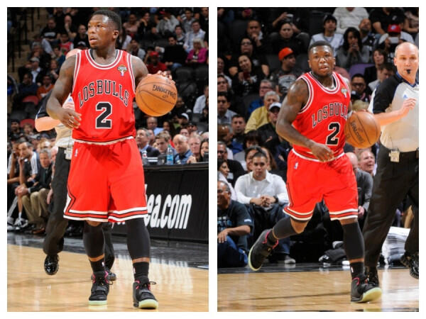 Nate Robinson wore a  2 000 pair of Nike Air Yeezy 2s last night vs    Yeezy 2 Nate Robinson