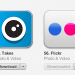 Takes is moving up the charts. Just passed Flickr in Photo and Video https://t.co/L4YBFSEvm5 http://t.co/sG8AoZn0oV