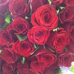 @prakashraaj So beautiful to wake up with red pretty roses.. Thank u for making me feel special:) happy happy happy!!