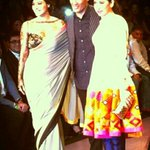 RT @SOTY_FC: PIC : @ManishMalhotra1's favourite Actresses #Kajol & #KarismaKapoor walk the Ramp with Him -