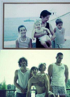 """T.C Ebru Destan İnan (@ebrudestaninan): """"@HergunYeniBilg: Bir anne ve 3 oğlu, 20 yıl önce verdikleri pozun aynsını tekrar verip, Babaya armağan ederler: http://t.co/vqnQdwdcl5"""""""