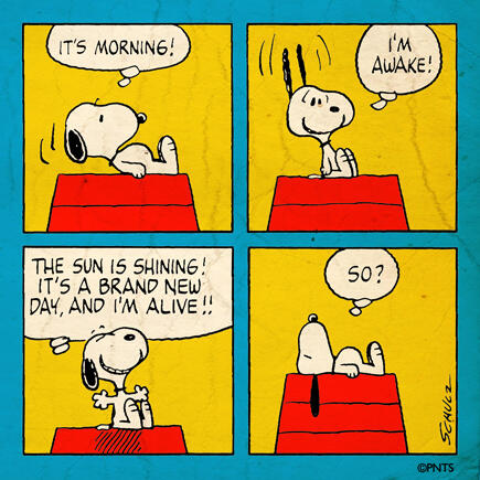 Thursday morning with Snoopy. http://t.co/zHo1yZDSez