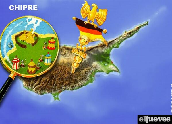 Theodora Oikonomides (@IrateGreek): The Spanish version of Asterix in #Cyprus (geographically correct) via @beatricedeDante http://t.co/ty5L7MrS3j #cyThaTaKataferoume