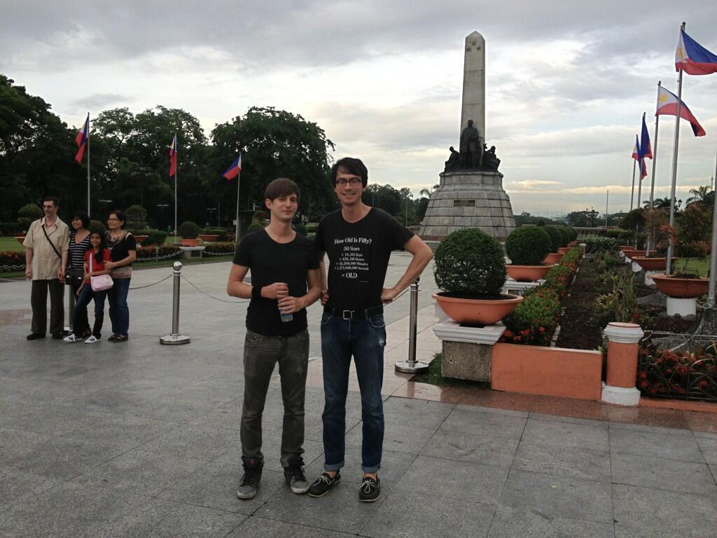 @TheJ_Russ @MCH_Tong At Rizal Park. http://t.co/6FwWjphmjD