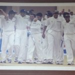 Happy memories :) stumbled upon this picture at the Chinnaswamy Stadium. http://t.co/gCMvfycJ9O