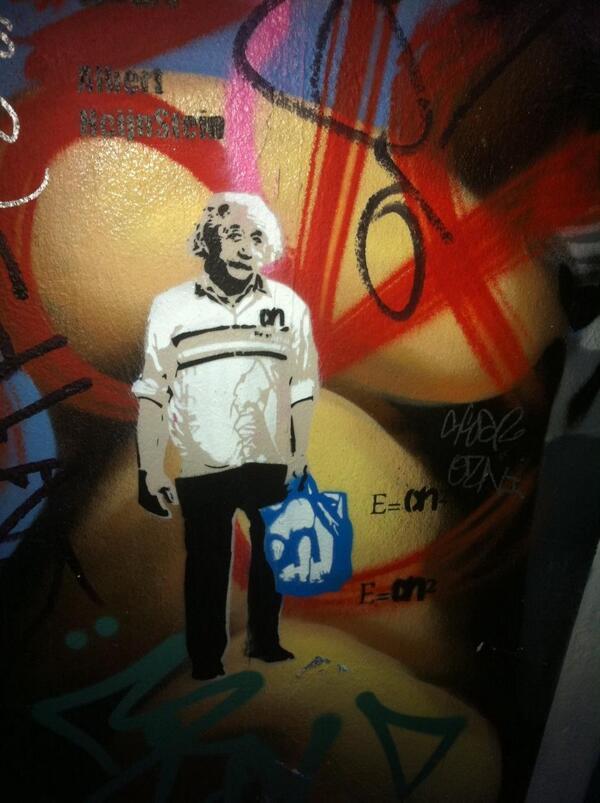 Albert Heijnstein : Spotted in #Amsterdam Haarlemmerdijk #graffiti #branding http://t.co/sotbplfuMT