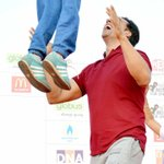 Akshay Kumar rocked the DNA Marathon yesterday. @akshaykumar http://t.co/duRkOTYMHG