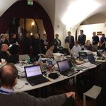 MT @DianeSawyer Behind the scenes: day 1 of #conclave in Vatican City -- see you on @ABCWorldNews tonight.