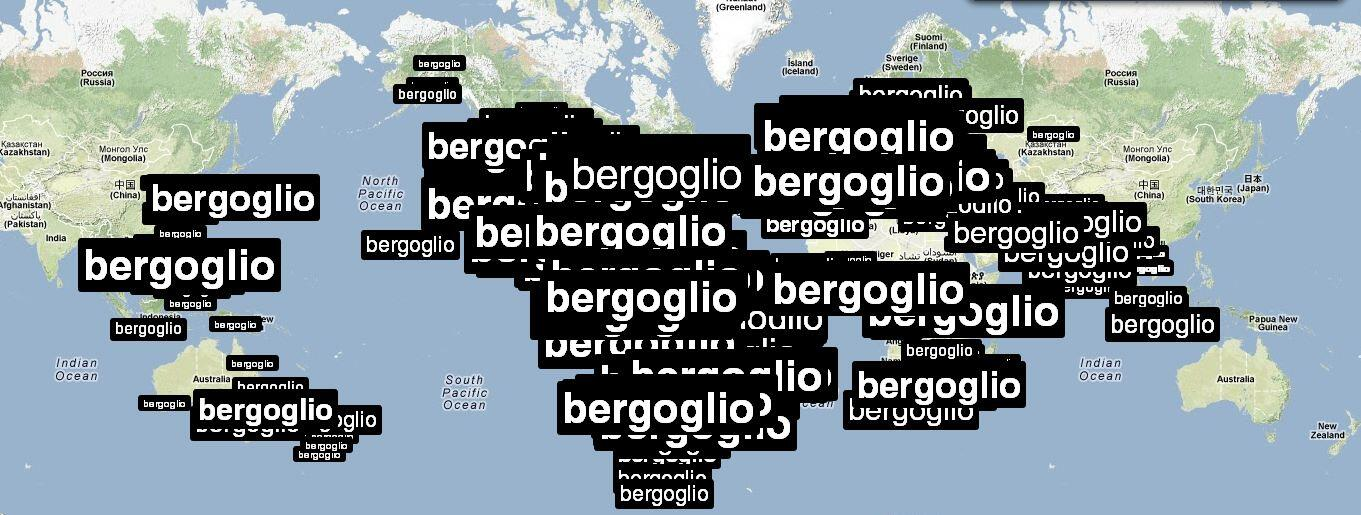 Bergoglio presente en las redes sociales. #habemuspapam http://t.co/DuSCdkgi9N