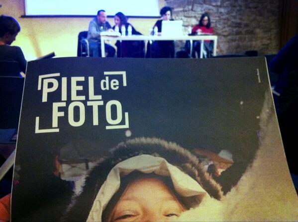 En la charla de la revista @PIELdeFOTO    dentro de las jornadas PICS del Pati Llimona (Barcelona) http://t.co/6FknDxKI7r