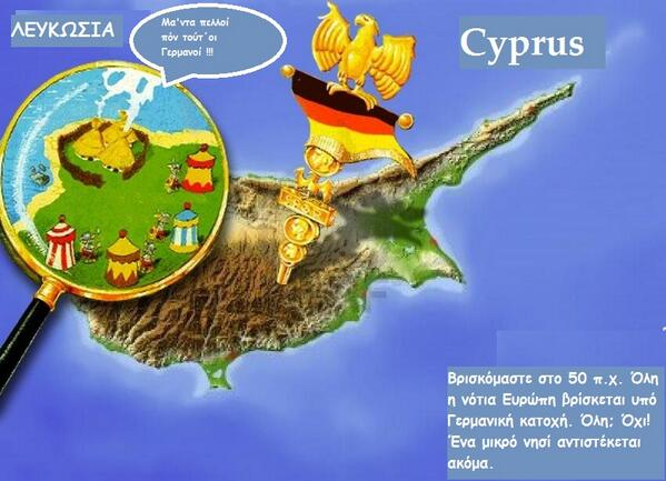 Theodora Oikonomides (@IrateGreek): #Cyprus as a Gaul village - now in the Cypriot dialect of Greek! http://t.co/eCIeF1a68S via @dagkas7