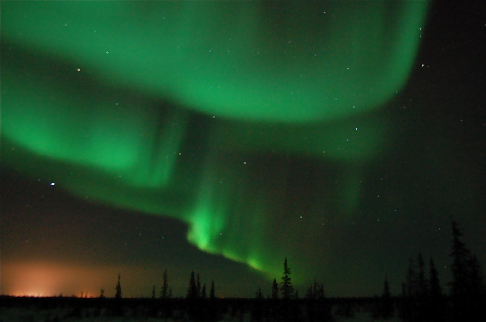 My favourite Northern Lights shot from last night here in Churchill, Manitoba, #Canada #mblights @Keep_Exploring http://t.co/qa3zYJU0j8