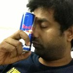 Pumped up at night shoot around 4:15 am!! Whole credit goes to u only redbull..