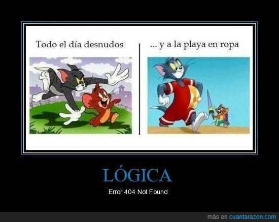 Tom y Jerry desnudos