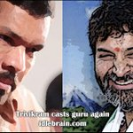 RT @idlebrainjeevi: Trivikram casts his guru again  http://t.co/zBDSwz6ccl