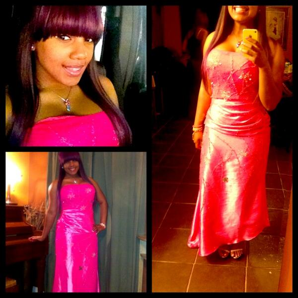 Breaunna womack prom dress