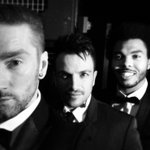 RT @JonathanJHart @MrPeterAndre @JonathanJHart and Shaun Williams #suit&tie #peterandre