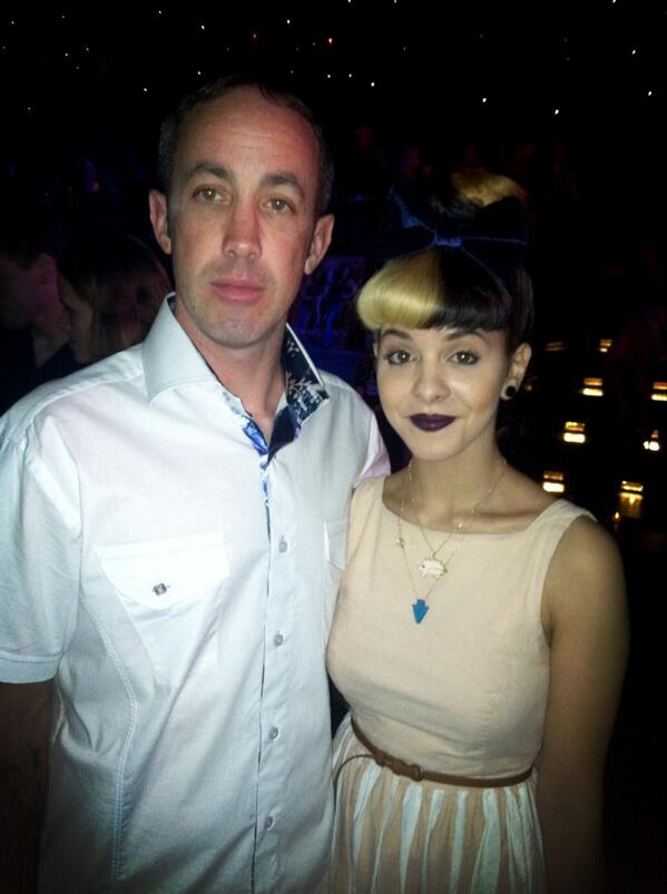 @MelanieLBBH and @Fergbkf in Hollywood @playhousehw with SU MAGAZINE http://t.co/n3xPRGV708