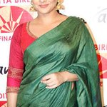 Chanderi silk to kanjivaram: The Vidya Balan saree collection. http://t.co/yzbwTaO13B