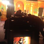 RT @megopichand: Balupu masss song shoot @shrutihaasan wit tons of energy !!