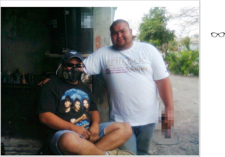 Felix marroquin torres alias el marro detenido y llevado al penal #matamoros junto con sus compañeros #sanfernando http://t.co/LNahsRBdze