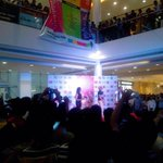 The Golden Collaboration at the Rcity Mall last Sunday... BLINGING in Holi....