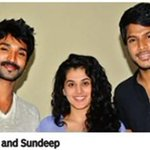 RT @MelanieWF: #Aadhi @taapsee & @sundeepkishan at Special Screening of #MaranthenMannithen http://t.co/Zc6DLnZI6L