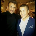 RT @neatnffc Aww little JamJam and gorgeous Pete;;) @mrpeterandre @JahmeneDouglas