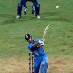 April 2, 2011: MS Dhoni launches Nuwan Kulasekara over long-on, and the shot is heard around the world.