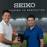 Really excited to be a part of @seikowatches got presented with my new Seiko Astron GPS Solar http://t.co/s0j1loR6xI