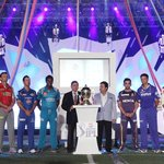 #IPL2013 is underway following a song and dance show featuring Pitbull and Shah Rukh Khan. Let the games begin.