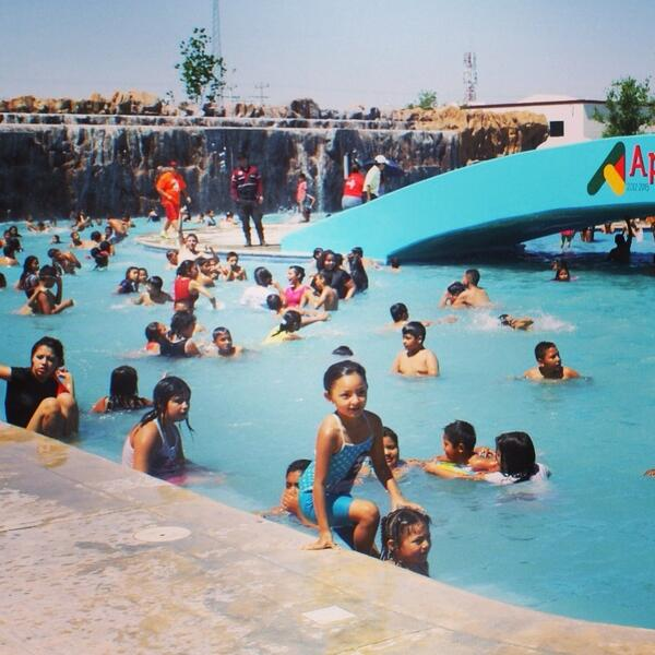 Los invito a visitar nuestro Parque Acuático Bicentenario ubicado en avenida Río Nilo en la Colonia Pueblo Nuevo http://t.co/U1wqvlzQop